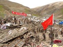 wojska wyzwolenia ludzie reliefowego s działania Zdjęcie Stock