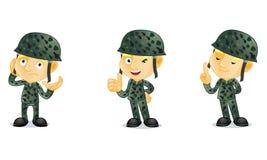 2 wojsko Obrazy Stock