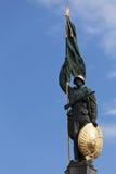 wojsko bohaterzy pomnikowy czerwony Vienna Obrazy Royalty Free