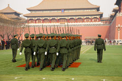 wojsko chińczyk Obrazy Stock