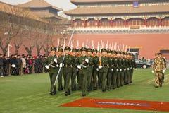 wojsko chińczyk Fotografia Royalty Free