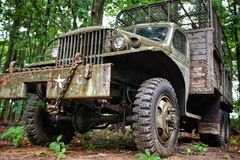 Wojsko ciężarówka obraz stock