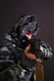 wojsko dziewczyna Fotografia Stock