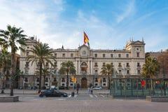 Wojsko generał Inspektorat, Barcelona Zdjęcia Royalty Free