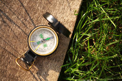 wojsko kompas Fotografia Royalty Free