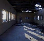 Wojsko koszary ruina w En Gedi, Izrael Zdjęcia Royalty Free
