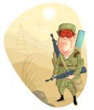 Wojsko mężczyzna Zdjęcia Royalty Free