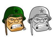 Wojsko mężczyzna Royalty Ilustracja