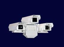 Wojsko okulistyczny i urządzenie elektroniczne Zdjęcie Stock