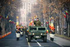 wojsko parada Obraz Royalty Free