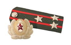 wojsko patka naramienna sowiecka obrazy royalty free