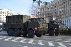 Wojsko samochody Zdjęcie Royalty Free