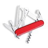 wojsko szwajcar odosobniony nożowy Obrazy Royalty Free