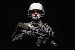 wojsko USA jednostek specjalnych Grupowy żołnierz Zdjęcie Royalty Free