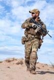 wojsko USA jednostek specjalnych Grupowy żołnierz Fotografia Royalty Free