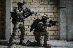 wojsko USA leśniczowie na misi zdjęcie stock