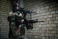 wojsko USA leśniczowie na misi zdjęcie royalty free