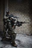 wojsko USA leśniczowie na misi fotografia stock