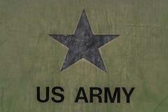 wojsko USA logo Zdjęcia Royalty Free