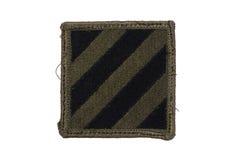 wojsko USA munduruje odznakę Zdjęcia Stock