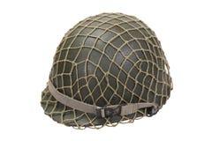 wojsko USA wojskowego hełm Zdjęcia Royalty Free
