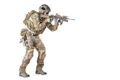 wojsko USA Zielony beret Zdjęcia Stock