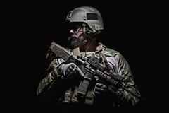 wojsko USA Zielony beret Fotografia Royalty Free
