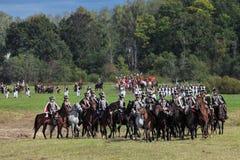 Wojsko w polu Zdjęcie Stock