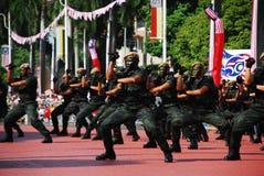 wojsko występ Obrazy Royalty Free