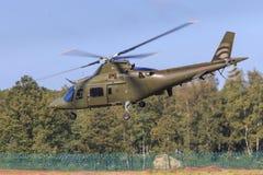 1 wojskowa okupacja ratunek helikoptera Obraz Royalty Free