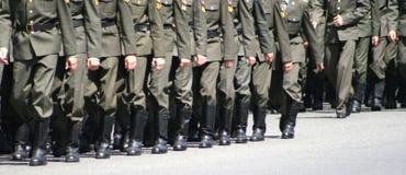 wojskowe buty Obrazy Stock