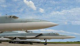 Wojskowego dżetowy naddźwiękowy samolot obrazy royalty free