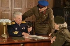 Wojskowego dojrzały generał obraz stock