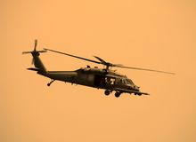 wojskowego helikoptera Obraz Royalty Free