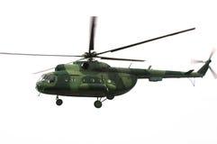 wojskowego helikoptera Obrazy Stock