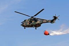 wojskowego helikoptera Zdjęcia Royalty Free
