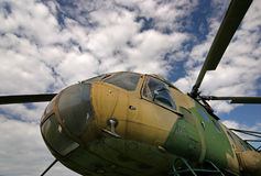 wojskowego helikoptera Zdjęcie Royalty Free