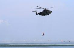 wojskowego helikoptera Fotografia Stock