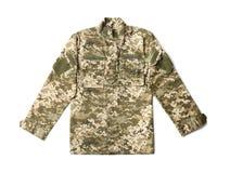 Wojskowy odziewa na tle zdjęcie royalty free