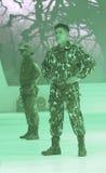 Wojskowy projektuje Obrazy Stock