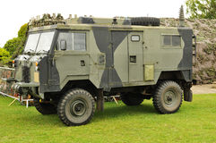 wojskowy przewozić samochodem Obraz Stock