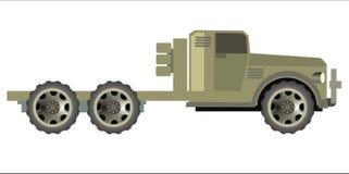 wojskowy przewozić samochodem Obrazy Royalty Free