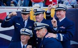 Wojskowy przy Patriota gemowymi Fotografia Royalty Free