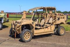 Wojskowy wszystkie terenu pojazd Obrazy Royalty Free