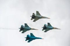 Wojskowych lotniczy wojownicy Zdjęcia Stock