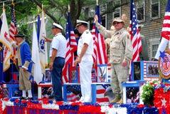 wojskowych uniformów rok Fotografia Stock