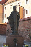 Wojtyla in cracow Royalty Free Stock Photography