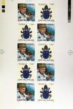 Wojtyla stamps Stock Photo