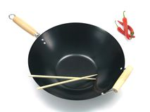 Wok Images stock