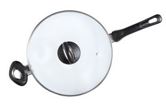 Wok Frying Pan - Stock Image Royalty Free Stock Image